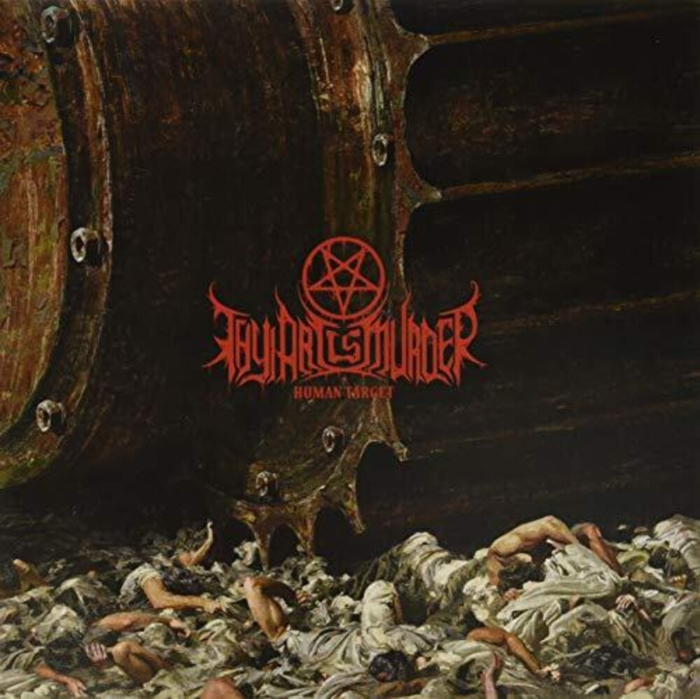 Thy Art Is Murder - Human Target [Colored Vinyl] [Limited Edition] (Aus)