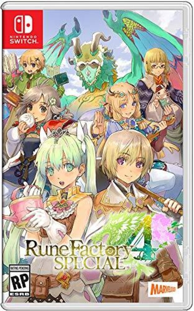 Swi Rune Factory 4 Special - Rune Factory 4 Special for Nintendo Switch