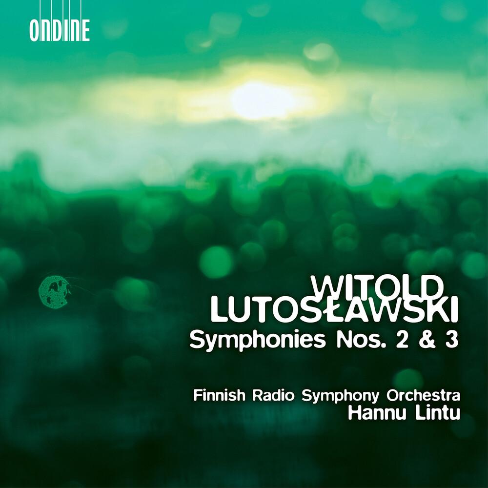 Lutoslawski / Finnish Radio Symphony Orch / Lintu - Symphonies 2 & 3 (Hybr)