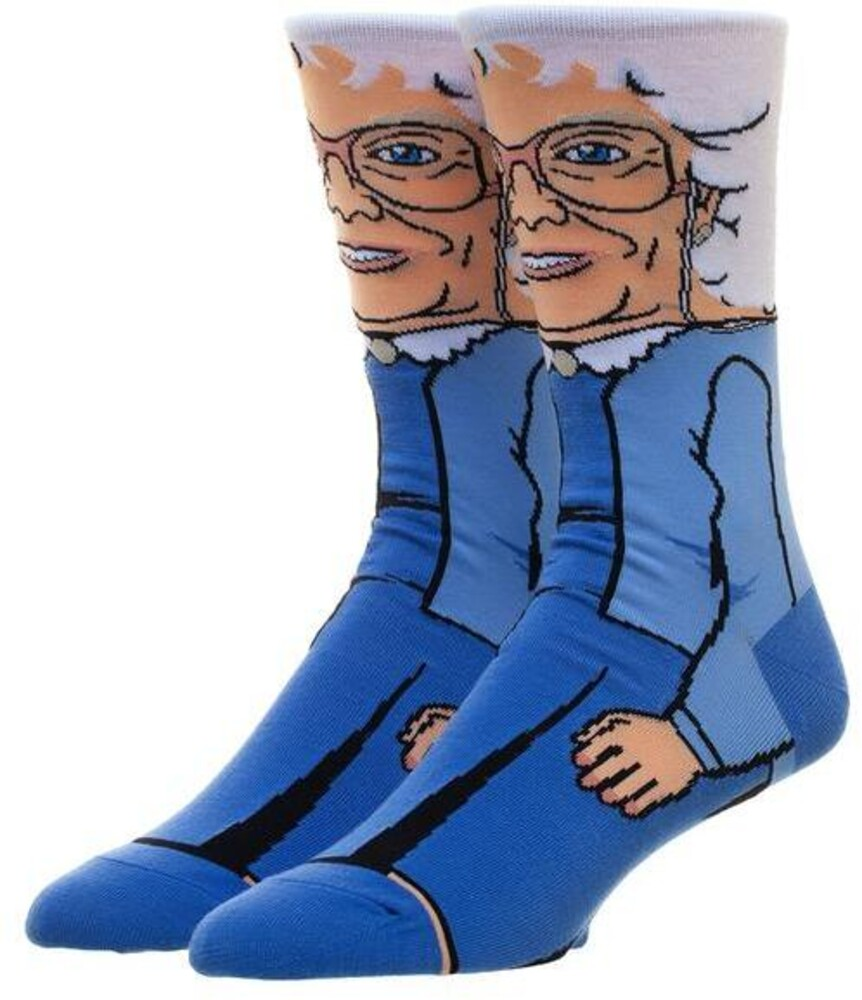 Golden Girls Sophia 360 Character Crew Sock - Golden Girls Sophia 360 Character Crew Socks