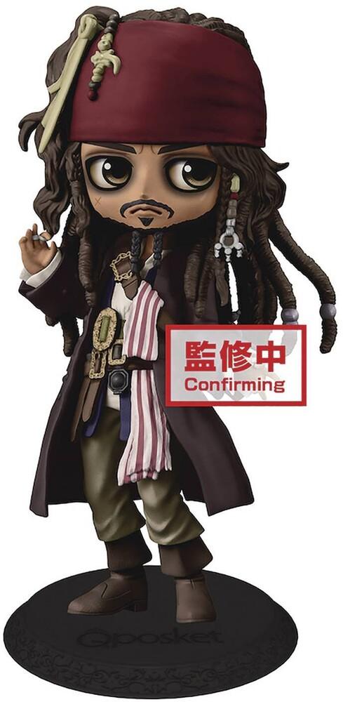 Banpresto - BanPresto Disney Jack Sparrow Q posket Figure