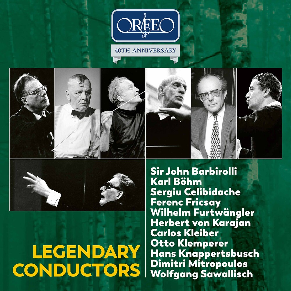 Karl Böhm - Legendary Conductors / Various (Box)