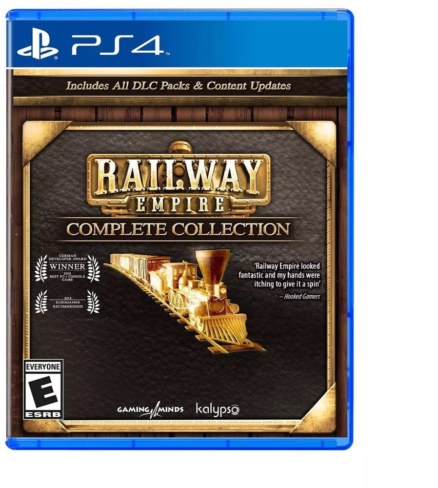 - Ps4 Railway Empire Complete