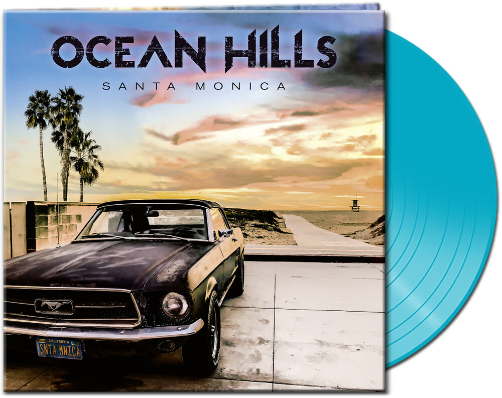 Ocean Hills - Santa Monica (Clear Light Blue Vinyl) (Blue) [Limited Edition]