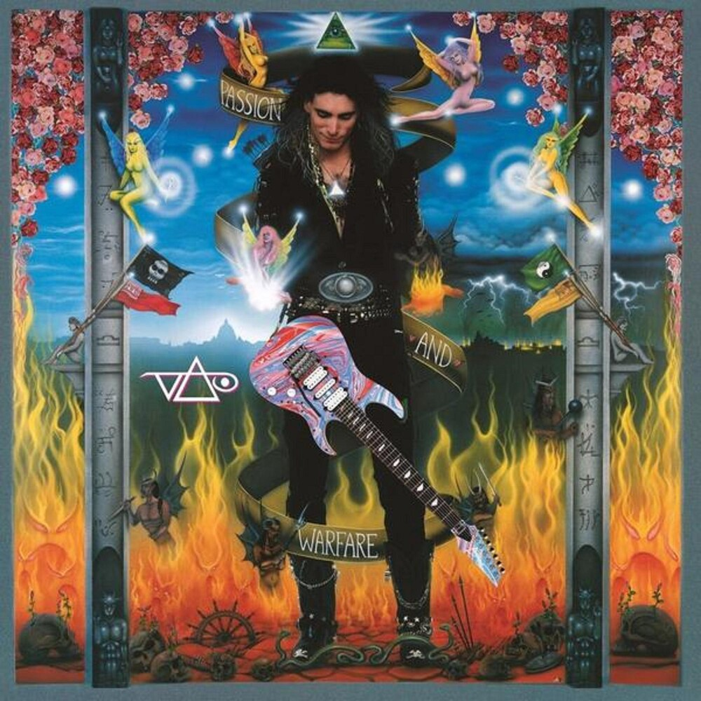 Steve Vai - Passion & Warfare (Gate) (Gol) (Ltd) (Ogv) (Red)