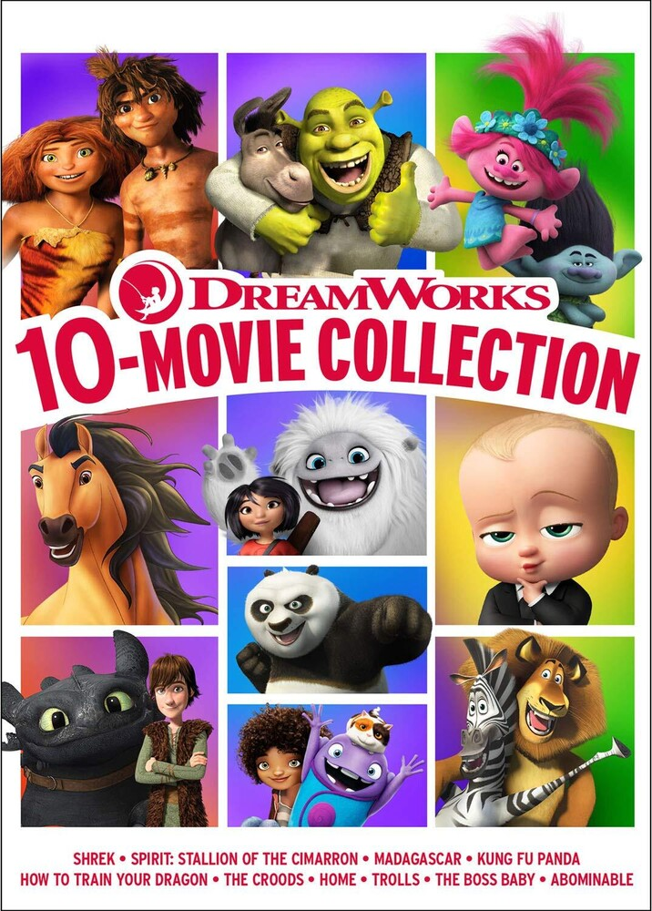 Dreamworks 10-Movie Collection - Dreamworks 10-Movie Collection (10pc) / (Box)