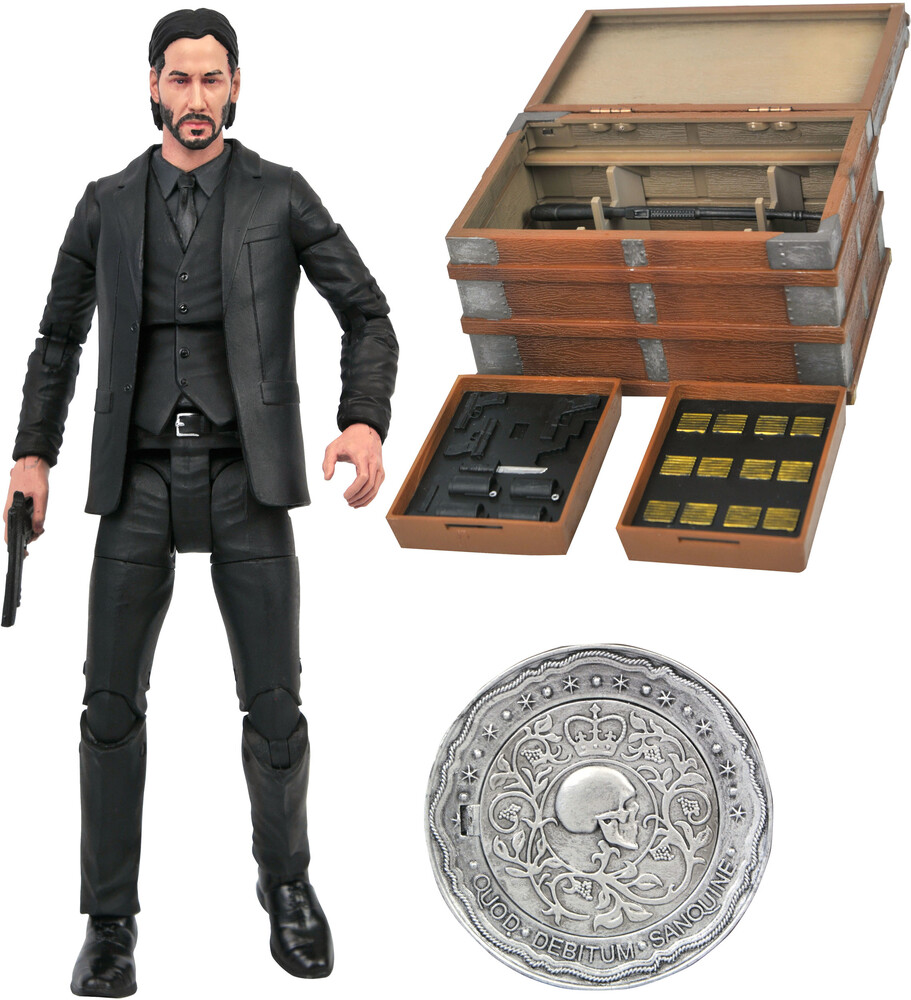 Diamond Select - Diamond Select - John Wick Deluxe Action Figure Box Set