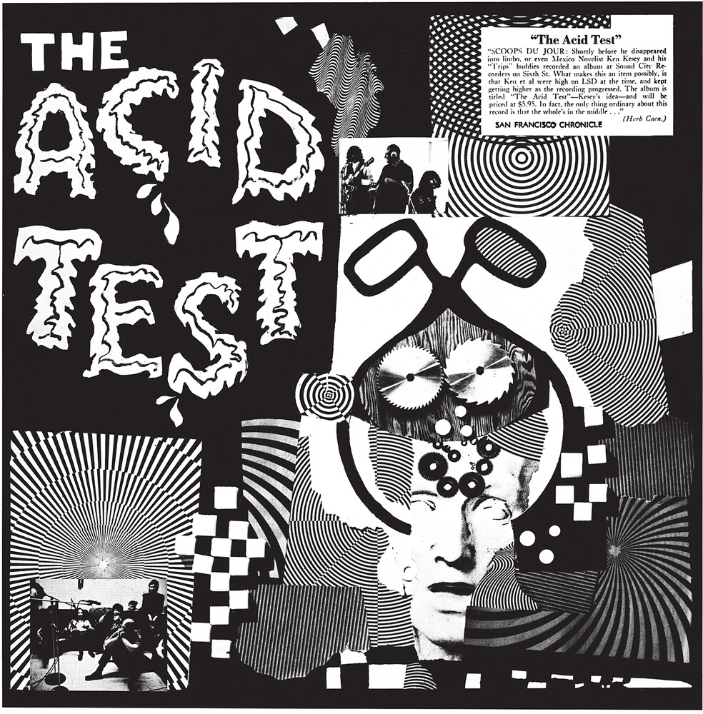 Ken Kesey - The Acid Test (Pink Vinyl)