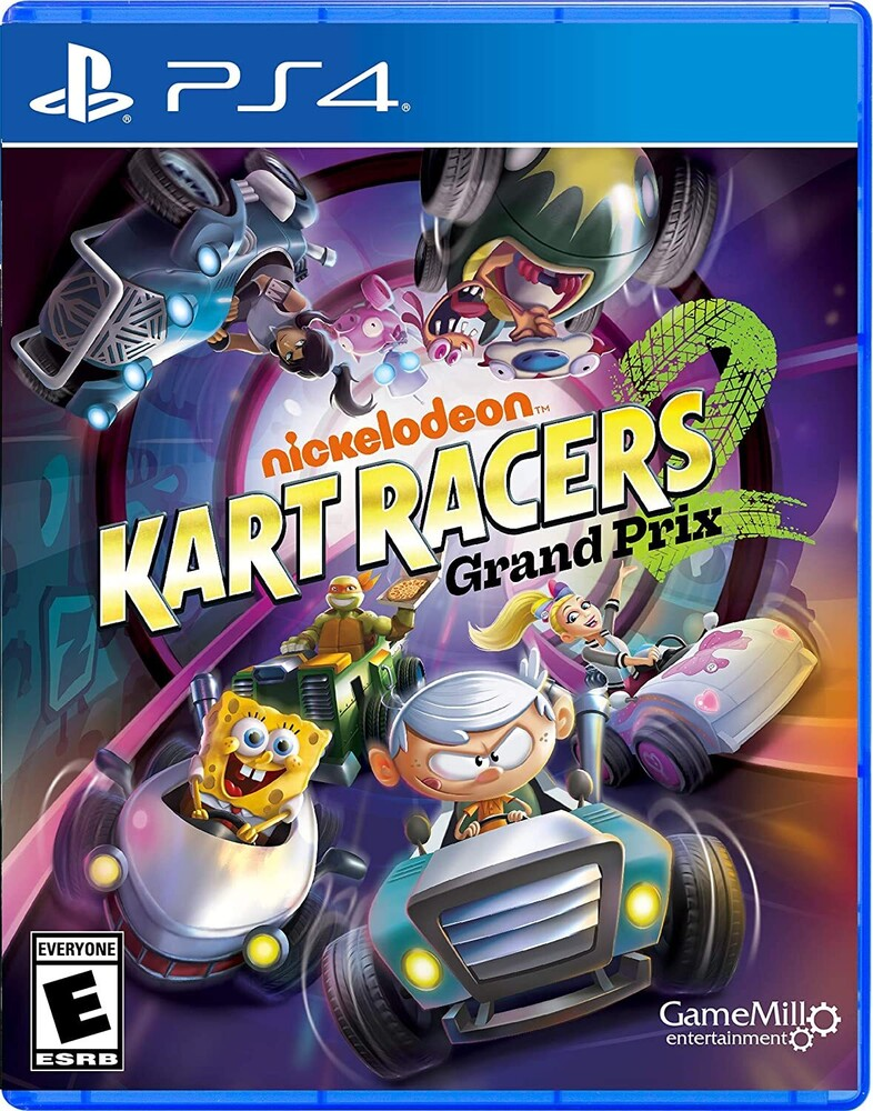 - Ps4 Nickelodeon Kart Racers 2: Grand Prix