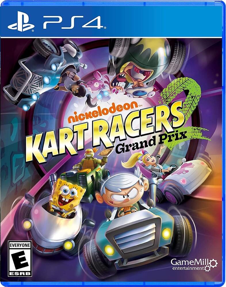 - Nickolodeon Kart Racers 2: Grand Prix for PlayStation 4
