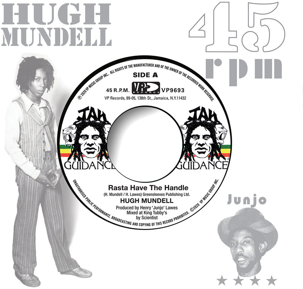 Hugh Mundell - Rasta Have The Handle (Uk)