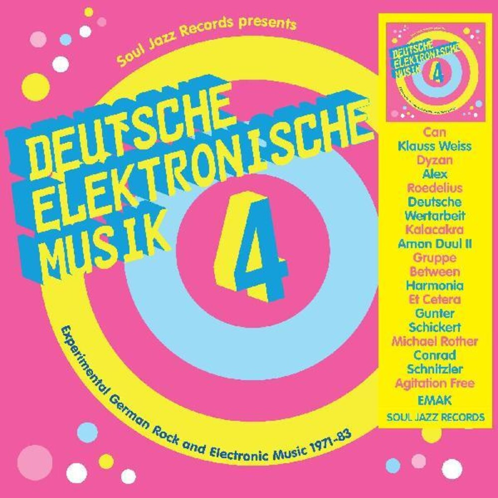 Soul Jazz Records Presents Deutsche Elektronische - Deutsche Elektronische Musik 4 - Experimental German Rock and  Electronic Music 1971-83