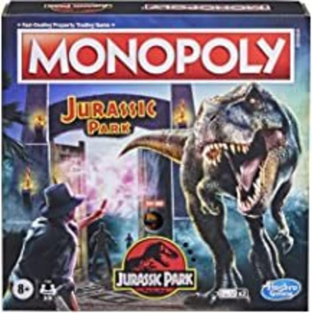 - Hasbro Gaming - Monopoly Jurassic Park