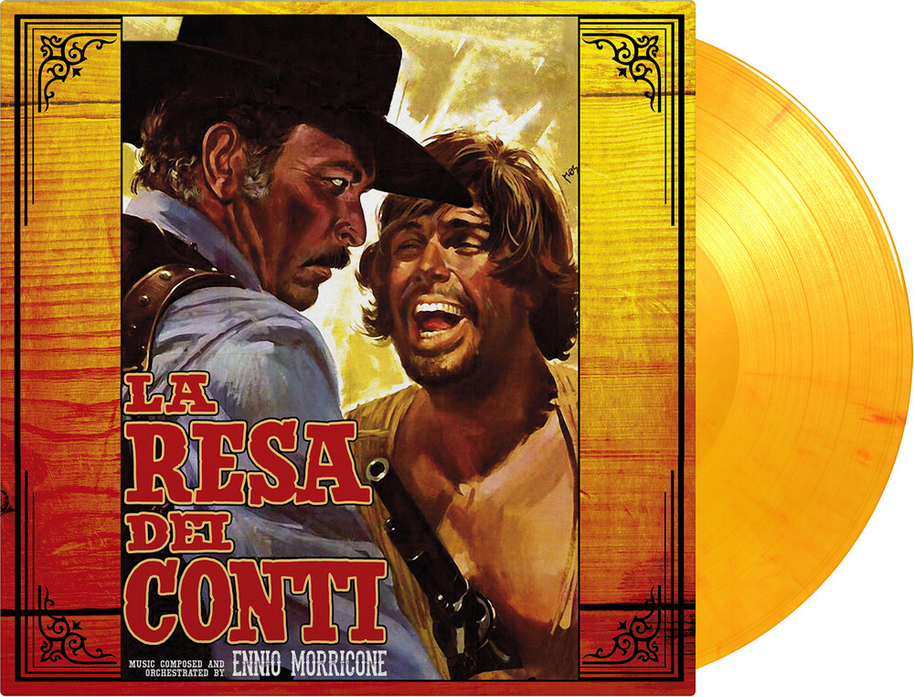 Ennio Morricone Ltd Ogv Org Ylw - La Resa Dei Conti (The Big Gundown) / O.S.T. [Limited Edition]
