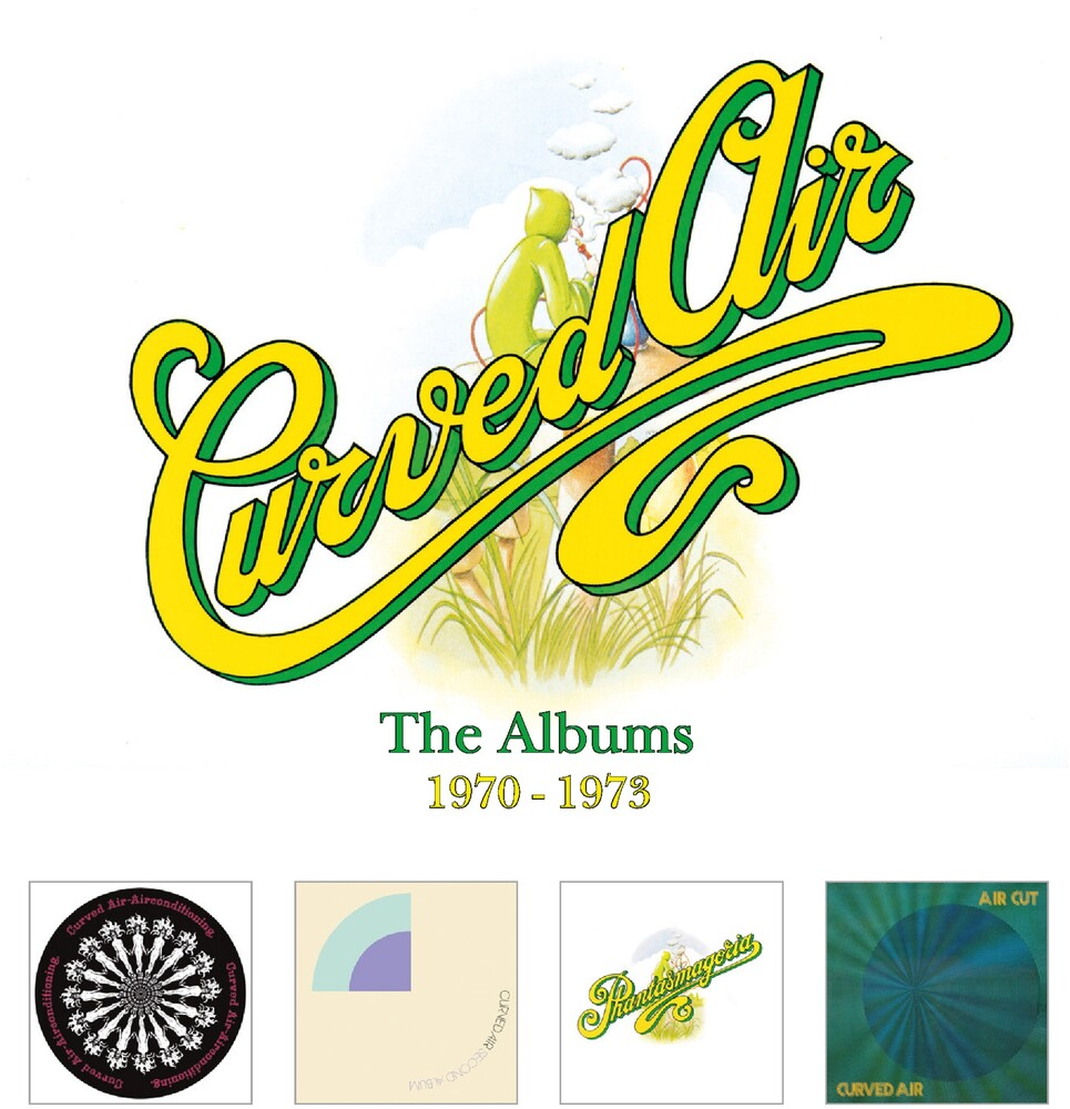 Curved Air - Albums 1970-1973 (Rmst) (Uk)