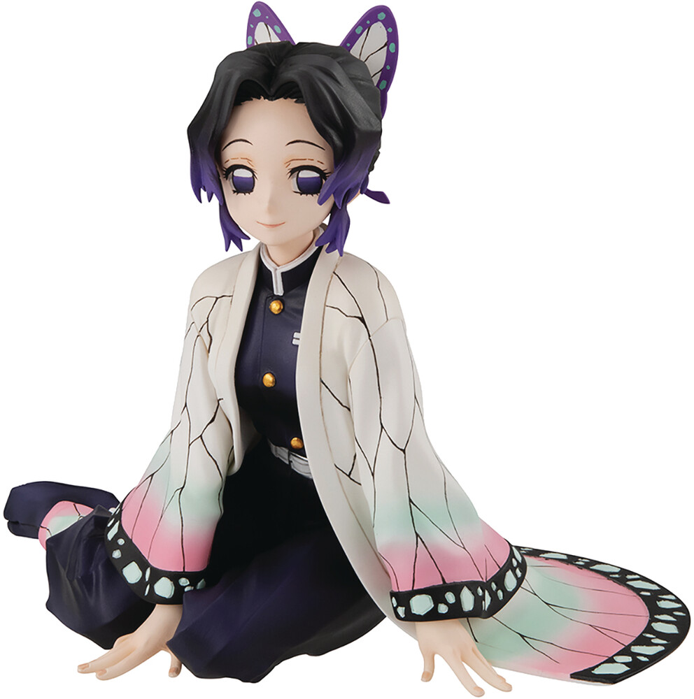 - Megahouse - Demon Slayer: Kimetsu no Yaiba - G.E.M. Demon Slayer PalmSize Shinobu