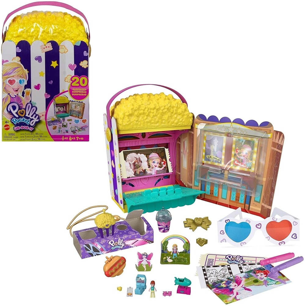 Polly Pocket - Mattel - Polly Pocket Surprise Box