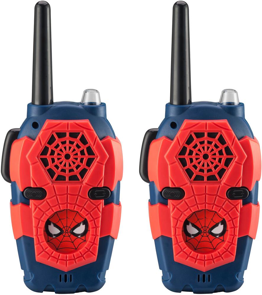 Spiderman Sm-212.Eev8I Walkie Talkies Red/Blue - Spiderman SM-212.EEV8I Walkie Talkies Includes Builit-In Effects(Red/Blue)