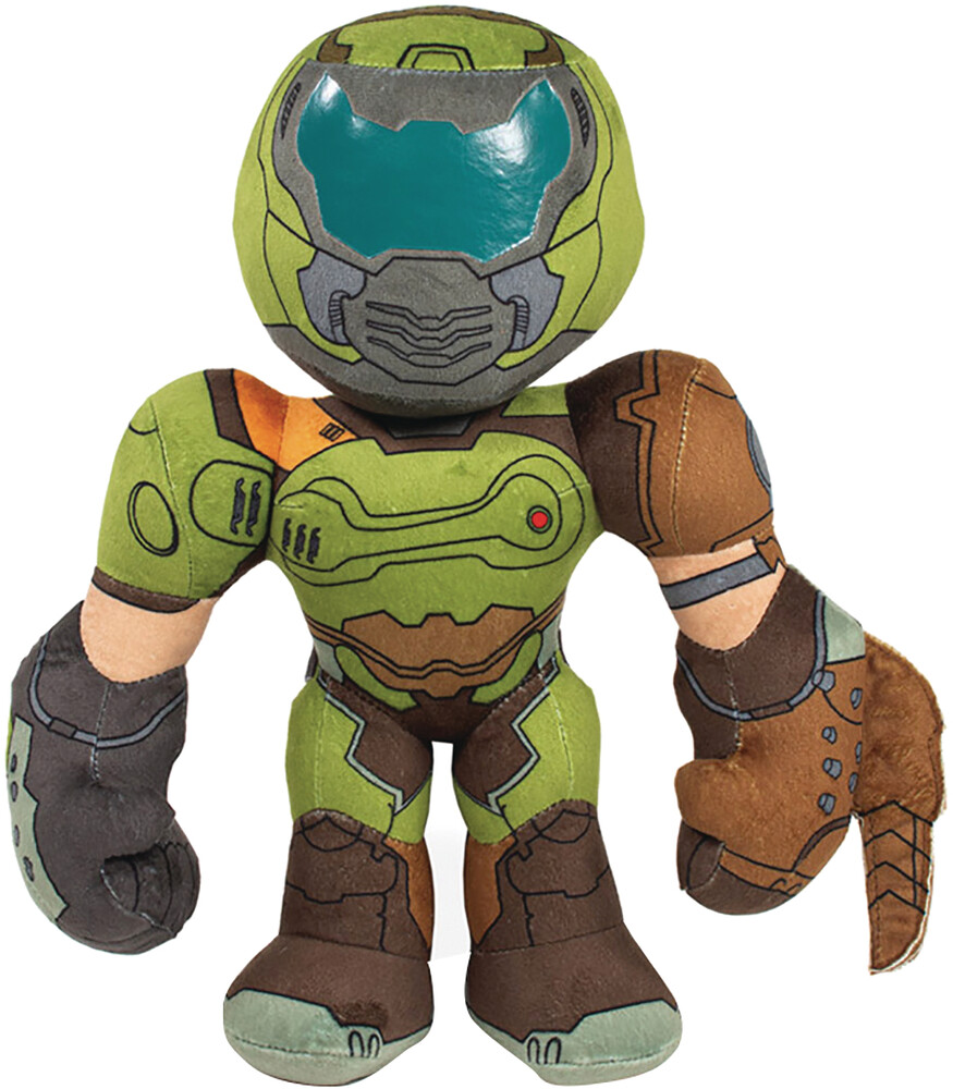 Rubber Road - Rubber Road - Doom Slayer 12In Plush (Net)