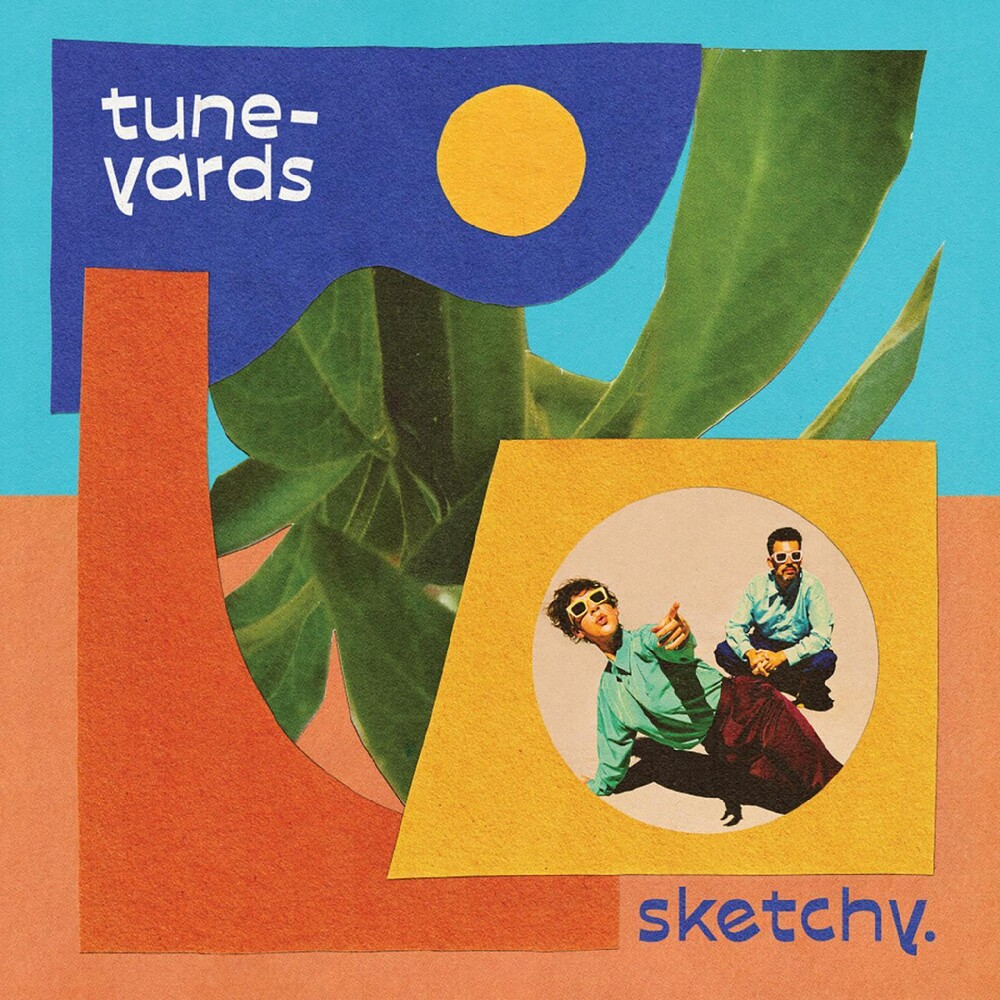 Tune-Yards - Sketchy. (Blue) [Colored Vinyl] [Indie Exclusive]