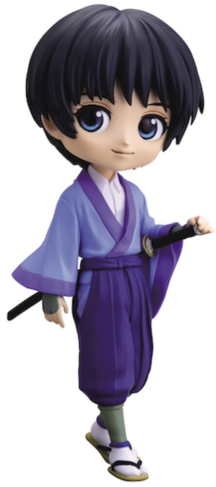 Banpresto - BanPresto - Rurouni Kenshin Meiji Swordsman Sojiro Seta Q posket Fig A
