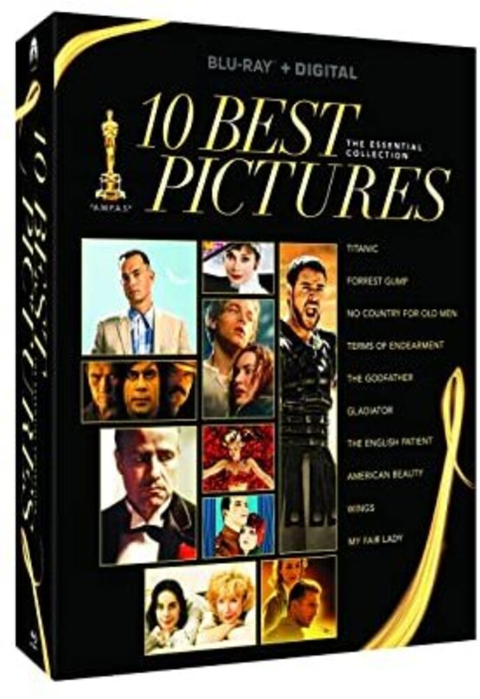 Best Picture Essentials 10 Movie Collection - Best Picture Essentials 10 Movie Collection (14pc)