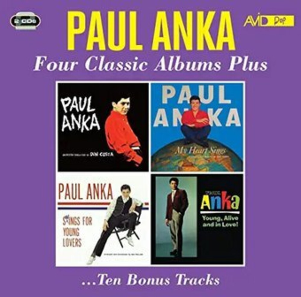 Paul Anka - My Heart Sings / Swings For Young Lovers (2pk)