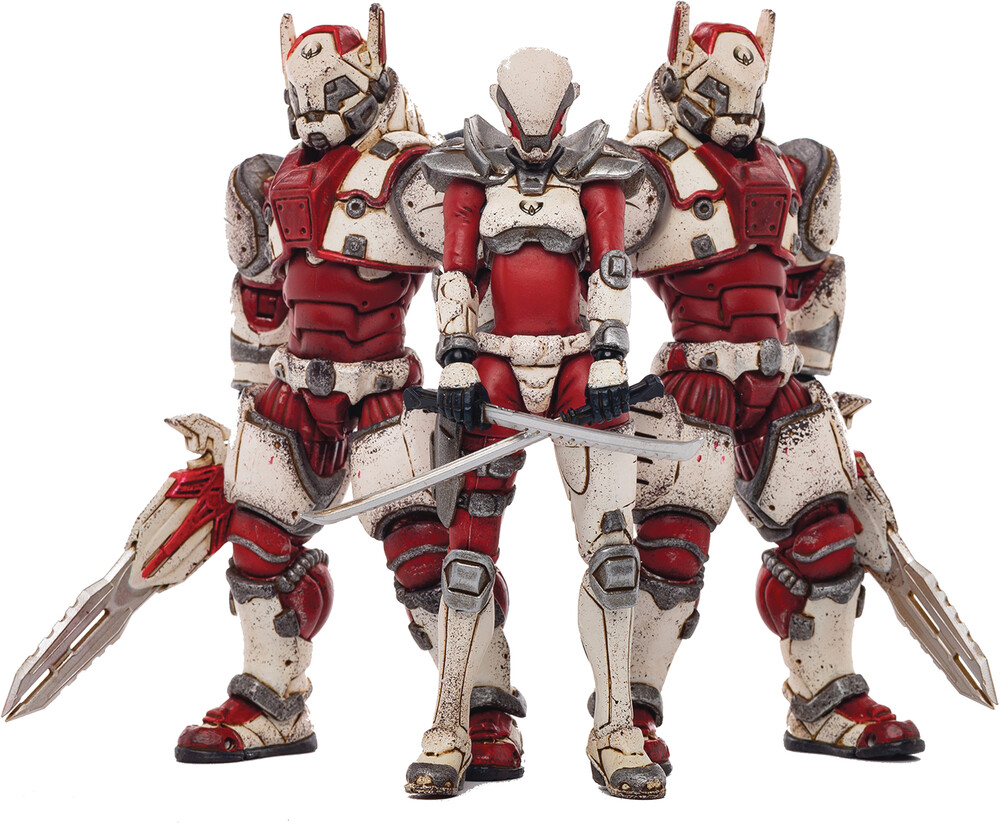 - Joy Toy Saluk White Flame Legion 1/18 3pk (Clcb)