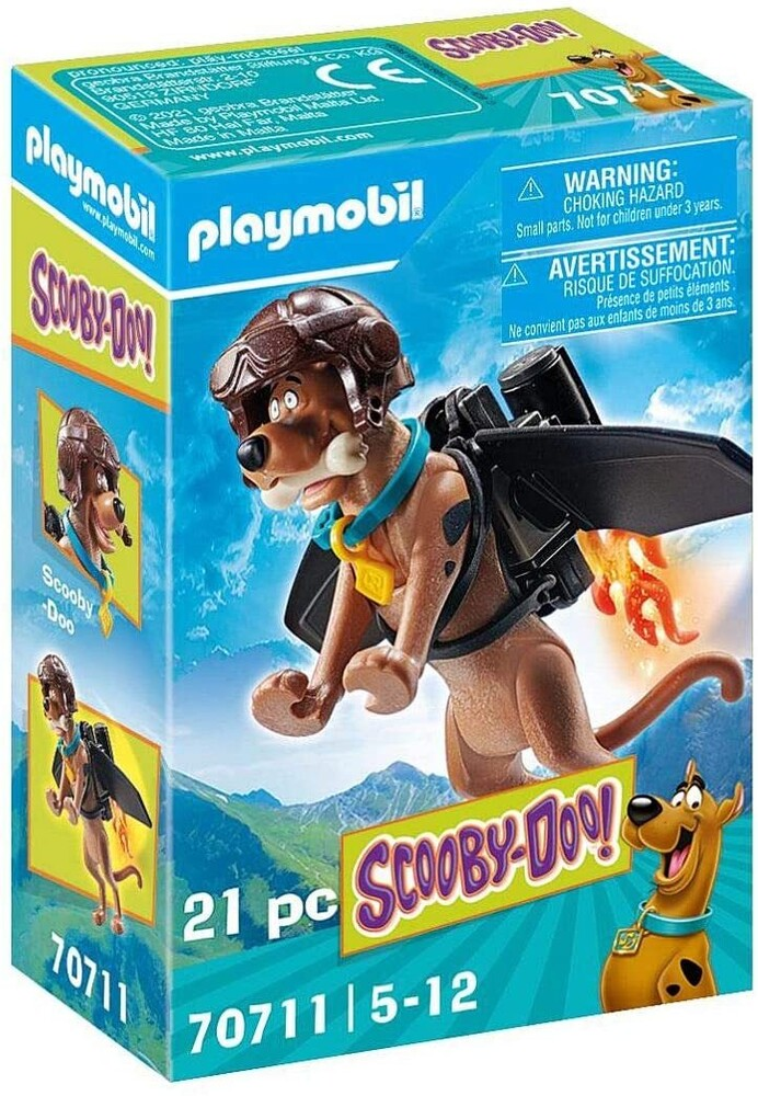 - Scooby Doo Collectible Pilot Figure (Fig)