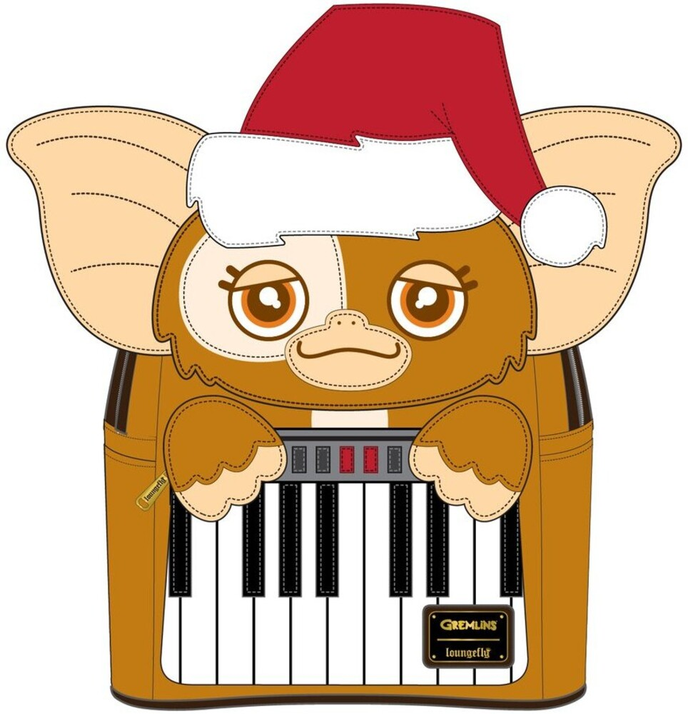 Loungefly Gremlins: - Gizmo Holiday Cosplay W Removable Hat Mini Backpac