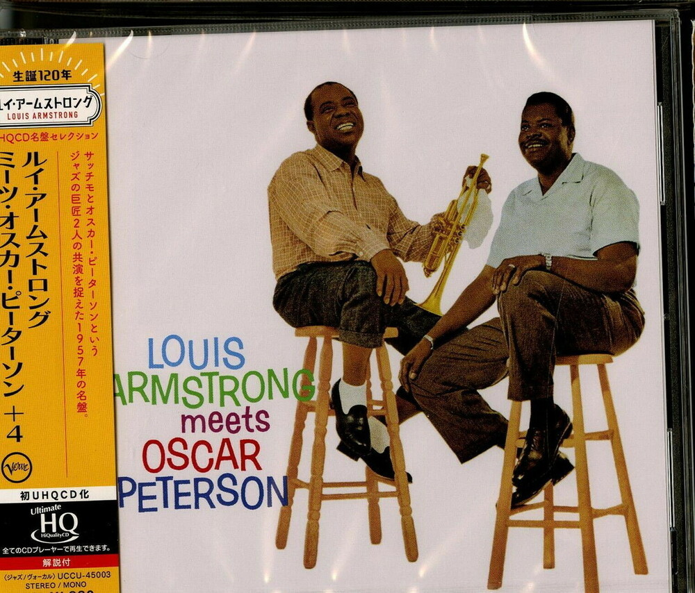 Louis Armstrong - Louis Armstrong Meets Oscar Peterson (Hqcd) (Jpn)