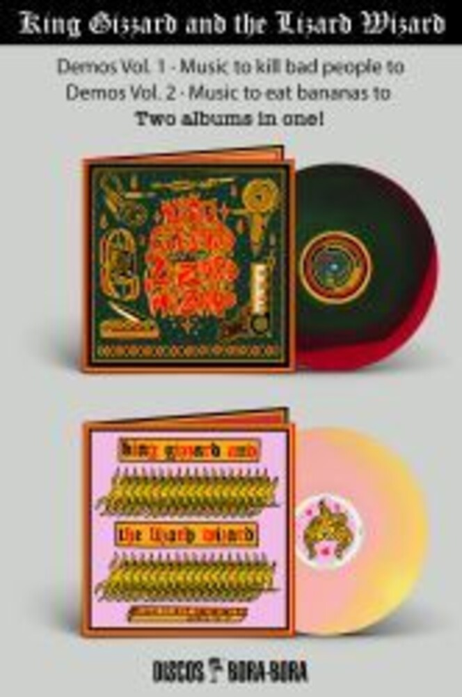 King Gizzard & The Lizard Wizard - Music To Kill Bad People To: Demos Vol 1 / Music To Eat Bananas To: Demos Vol 2 [Import]