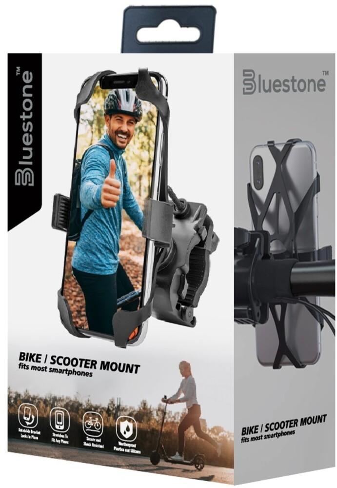 Bluestone Mb1Bk Bike/Scooter Phone Mount Black - Bluestone Mb1bk Bike/Scooter Phone Mount Black