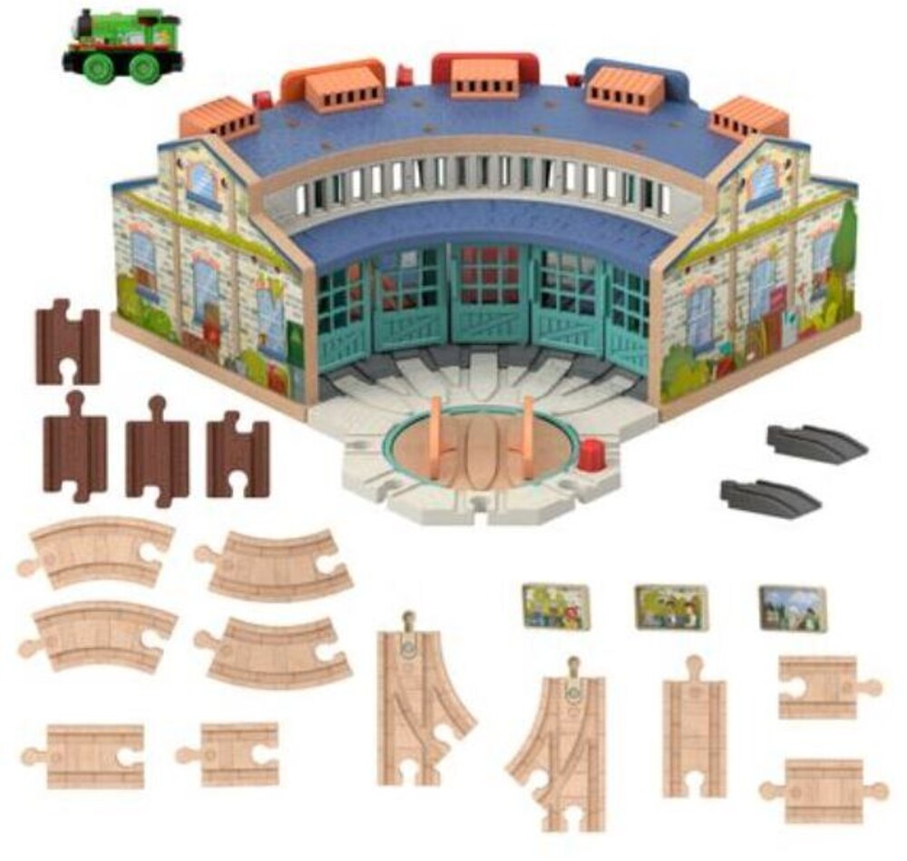 Thomas and Friends Wooden Railway - Thomas And Friends Wood Tidmouth Sheds (Wood)