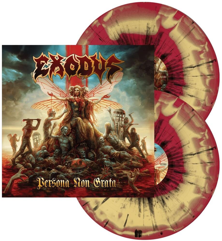 Exodus - Persona Non Grata (Red & Mustard / Black Splatter)