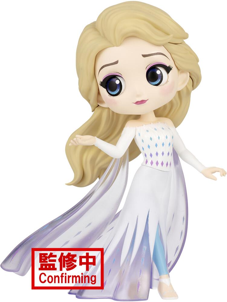 Banpresto - Disney Characters Qposket Elsa From Frozen 2 Ver.A