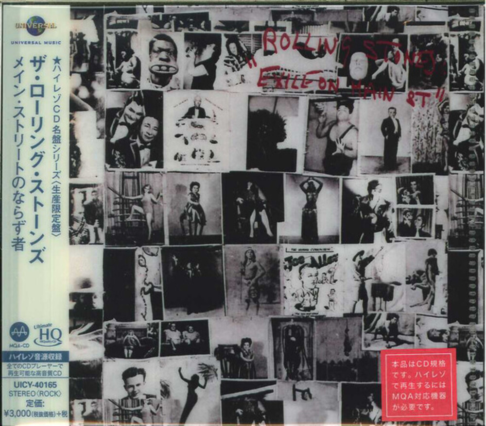 The Rolling Stones - Exile On Main Street [Import Limited Edition]
