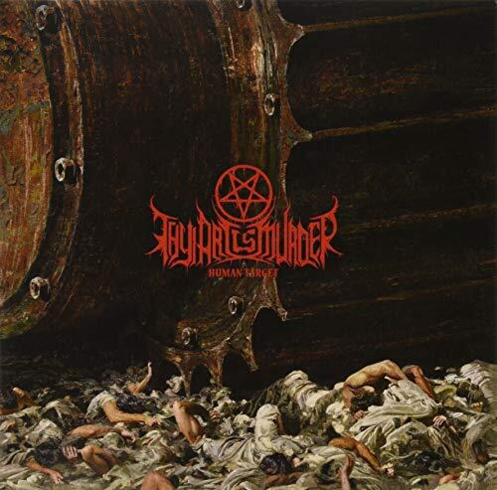 Thy Art Is Murder - Human Target [Import Limited Edition Red LP]