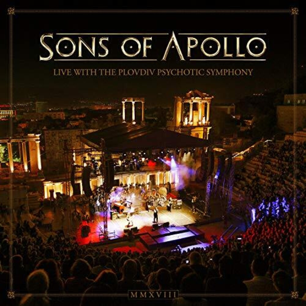 Sons Of Apollo - Live With The Plovdiv Psychotic Symphony [Import 3CD/DVD]