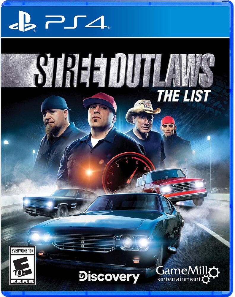 - Street Outlaws: The List for PlayStation 4