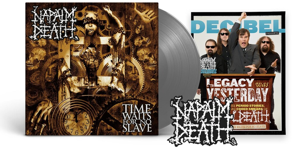 Napalm Death - Time Waits For No Slave (Decibel Edition) [Indie Exclusive Limited Edition Black Ice LP]