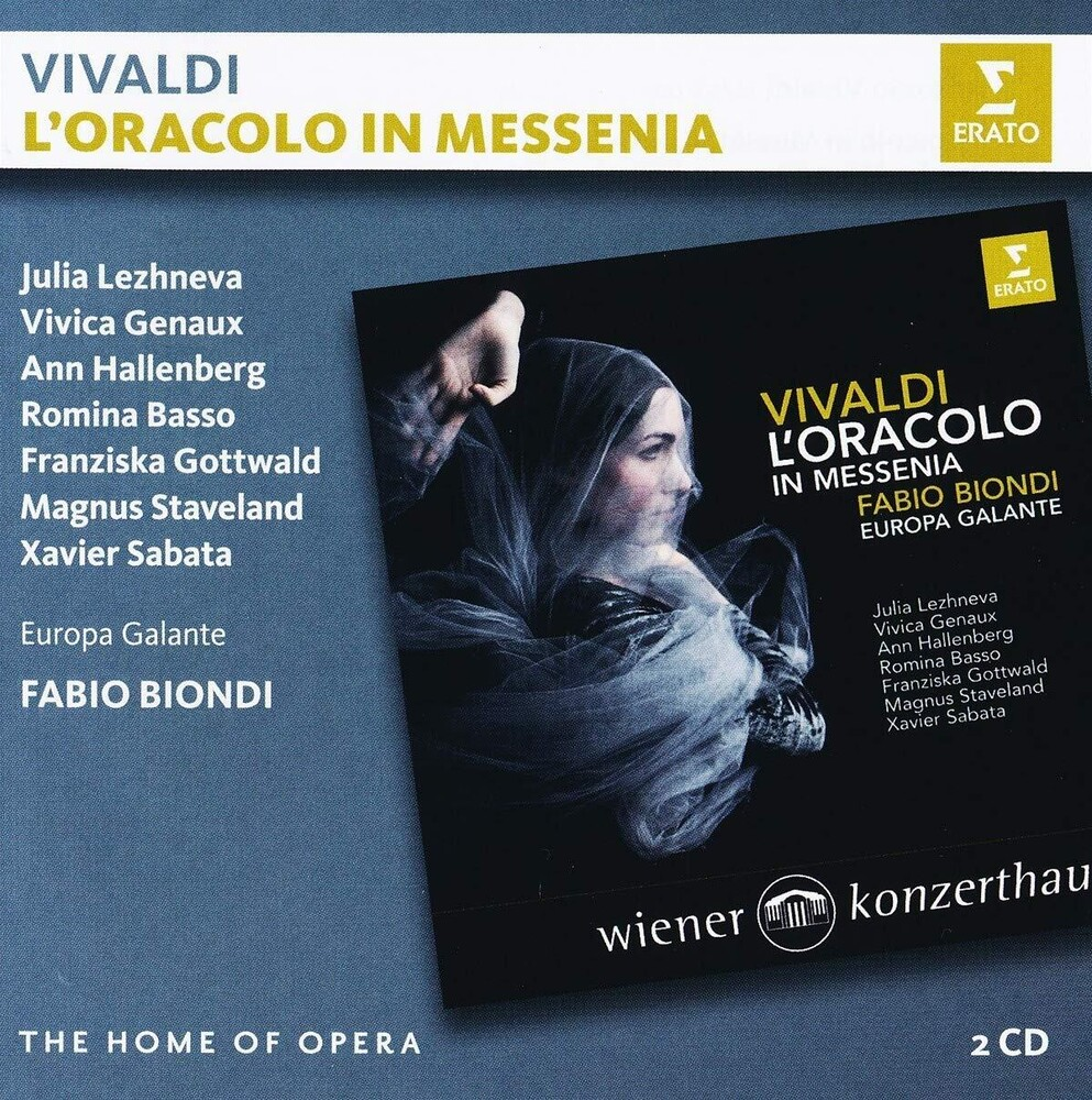 Vivaldi / Fabio Biondi - Vivaldi: L'oracolo In Messenia (Ltd) (Fra)