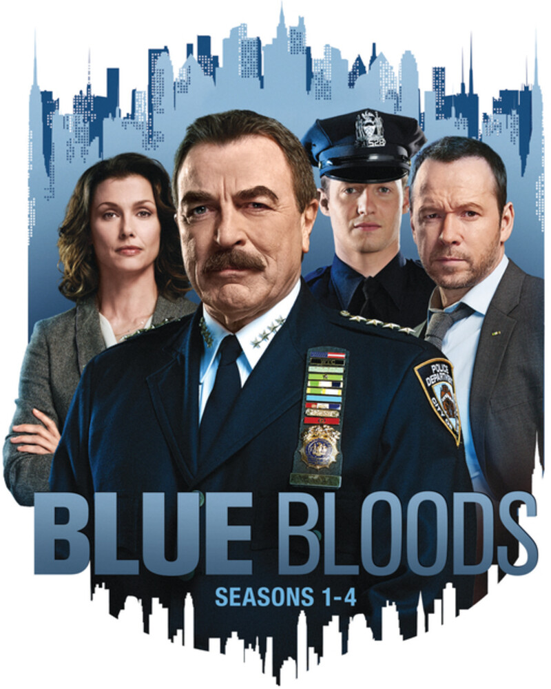 Blue Bloods: Seasons 1-4 - Blue Bloods: Seasons 1-4 (24pc) / (Box Ac3 Dub Ws)