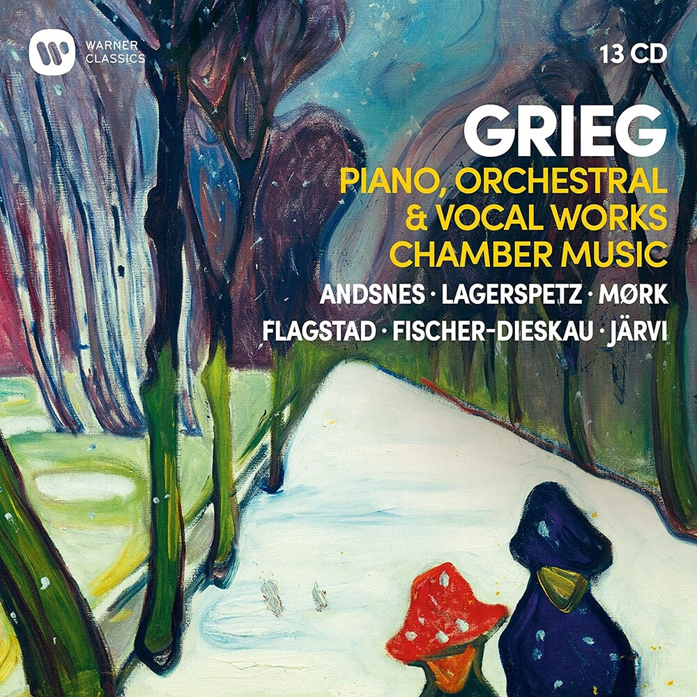 Leif Andsnes Ove / Lagerspetz,Juhani / Mork,Truls - Grieg: Piano Orchestral & Vocal Works Chamber