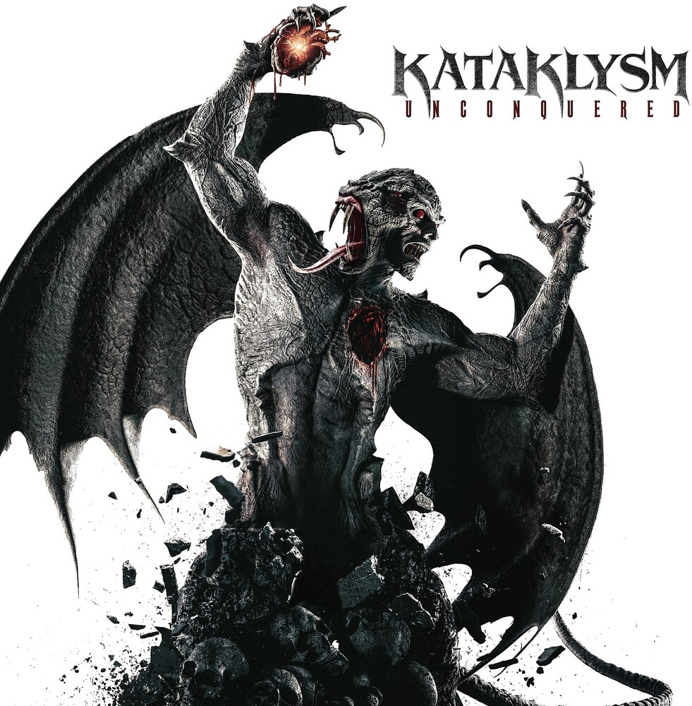 Kataklysm - Unconquered (Red & Black Splatter) (Blk) [Limited Edition]