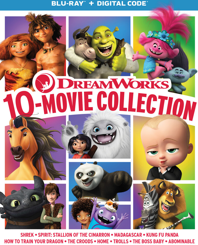 Dreamworks 10-Movie Collection - Dreamworks 10-Movie Collection (10pc) / (Box Digc)