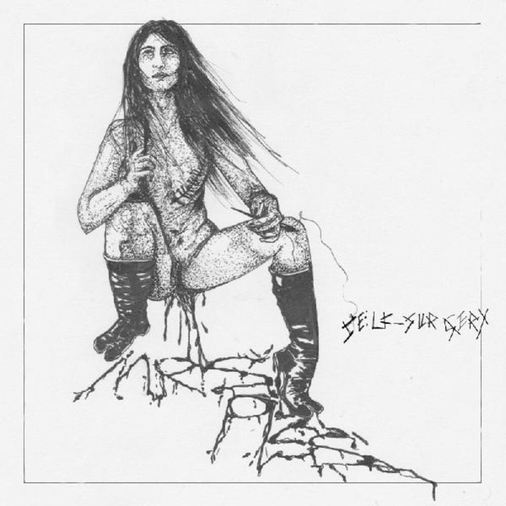 Mrs. Piss - Self-Surgery [Indie Exclusive Limited Edition Red/Black Splatter LP]