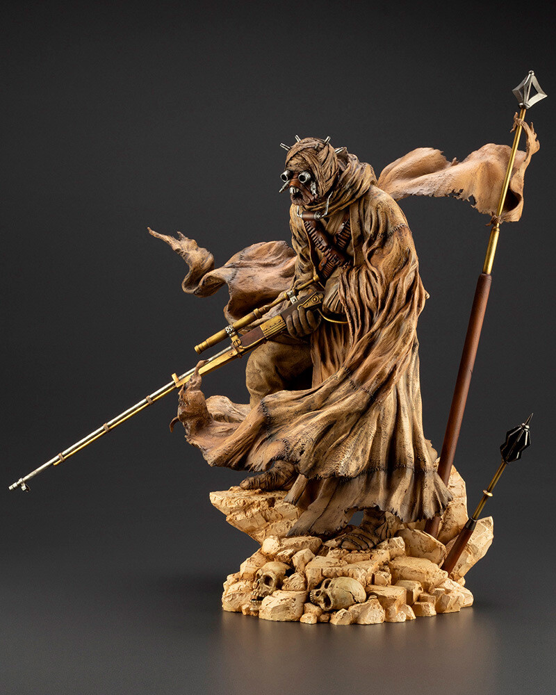 Star Wars - Tusken Raider Barbaric Desert Tribe - Kotobukiya - Star Wars: A New Hope - ARTFX Artist Series Tusken Raider Barbaric Desert Tribe
