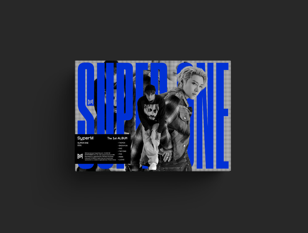 SuperM - SuperM The 1st Album 'Super One' [Unit C Ver. - KAI,TEN]