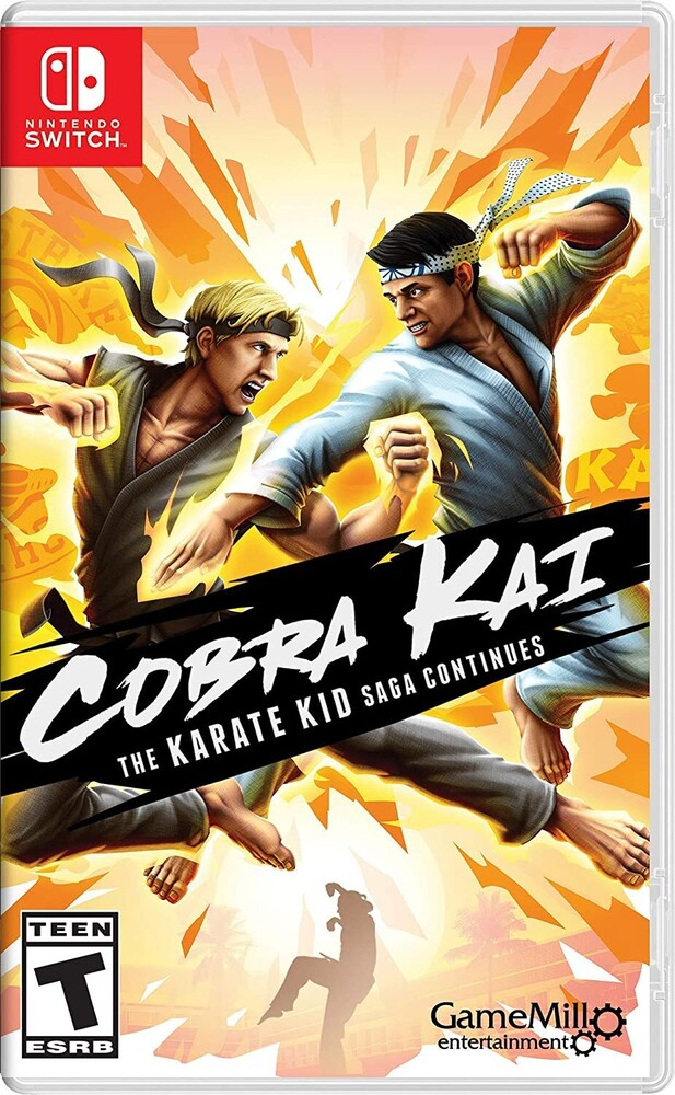 Swi Cobra Kai Karate Kid Saga - Cobra Kai Karate Kid Saga for Nintendo Switch